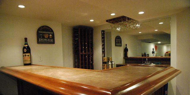 how to build a bar in 4 east steps diy home bar plans and tips rh popularmechanics com building a basement bar step by step building a basement bar using cabinets