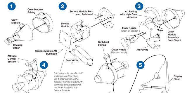 Build This Paper Model of NASA's Next Spacecraft