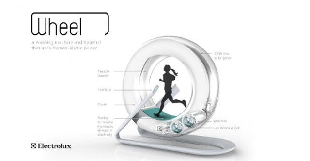 A Treadmill That Does Your Laundry