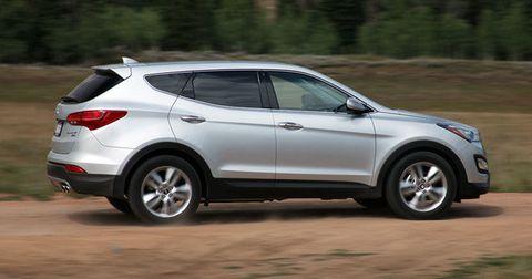 2013 Hyundai Santa Fe Sport Test Drive