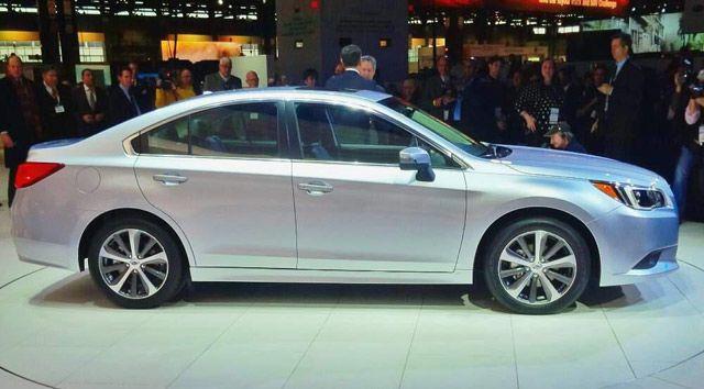 2015 Legacy: Subaru's Take on the Family Sedan