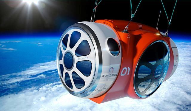 This Giant Balloon Will Carry You to (Near) Space