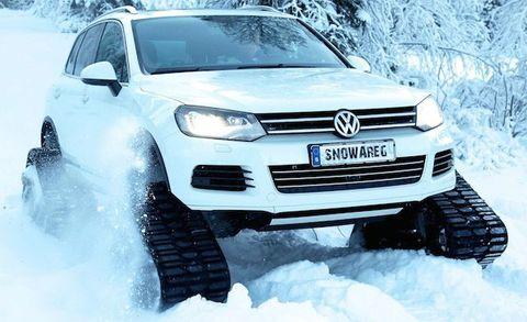 """Volkswagen Touareg Tracked """"Snowareg"""""""