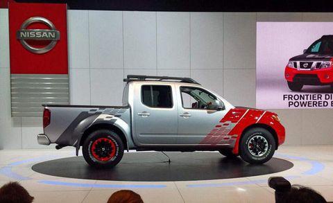 Nissan Frontier Diesel >> Nissan Frontier Diesel Runner Concept Revealed