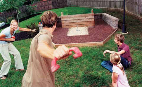 Backyard Horseshoes