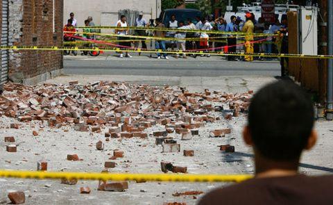 Earthquake damage Pomona California