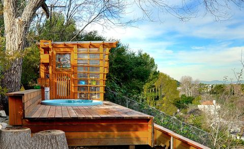 Wood, Hardwood, Spring, Wood stain, Lumber, Outdoor structure,