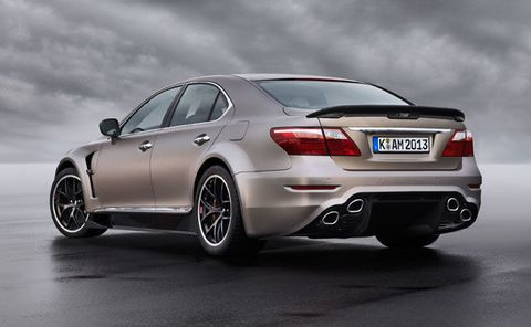 Toyota Motorsports Group Builds a 641-hp Twin-Turbo Lexus