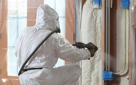 An affordable alternative to spray foam insulation there must be a better way than pricey spray foam insulation to make a home more energy efficient solutioingenieria Choice Image
