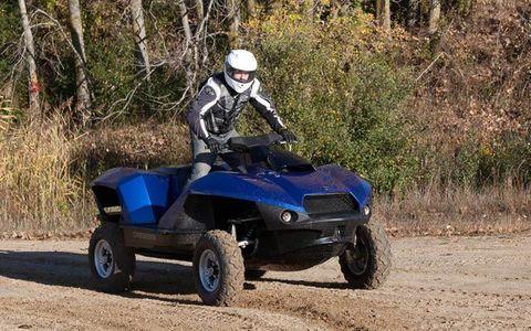 We Test the Gibbs Quadski Amphibious ATV - Gibbs Quadski Amphibious