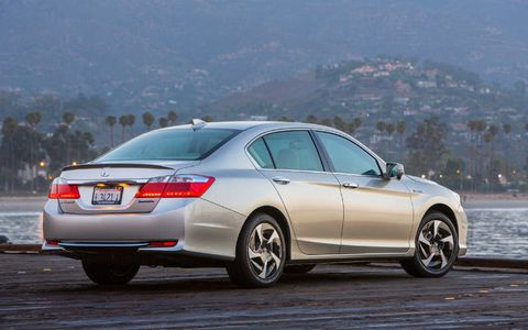2014 Honda Accord Plug In Hybrid Test Drive