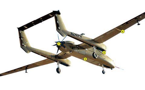 Yellow, Aircraft, Line, Airplane, Aviation, Windshield, Aerospace manufacturer, Aerospace engineering, Flight, Propeller,