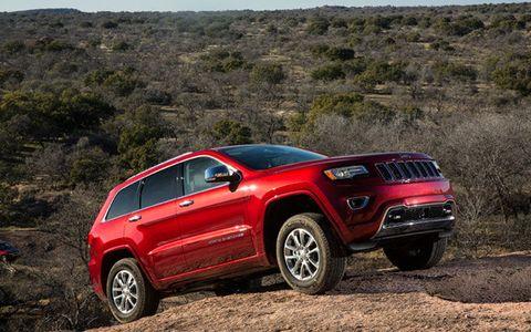 2014 Jeep Grand Cherokee and Grand Cherokee SRT8 Test Drive