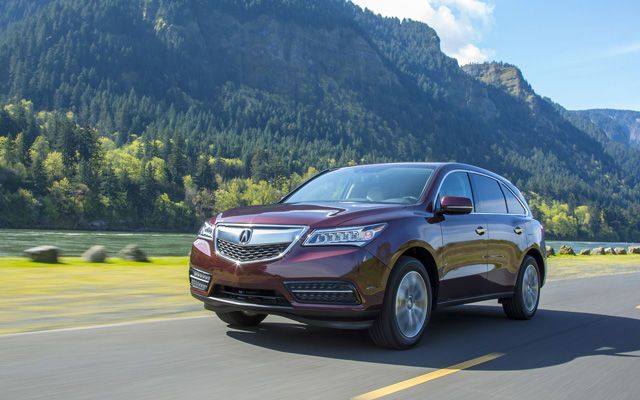 2014 Acura MDX Test Drive