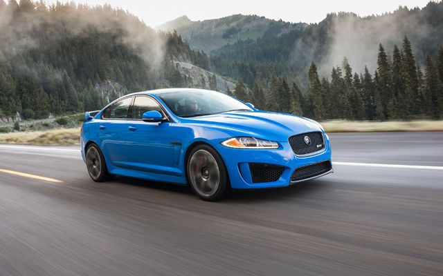 The Raging and Exceedingly Rare 2014 Jaguar XFR-S