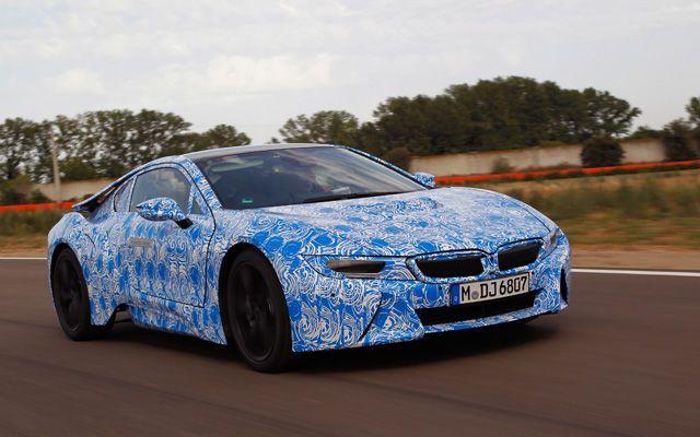 2014 BMW i8 Test Drive
