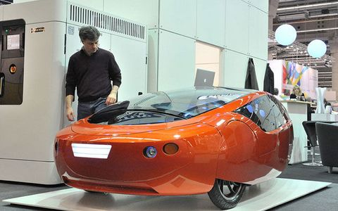 Urbee 2 The 3d Printed Car That Will Drive Across The Country