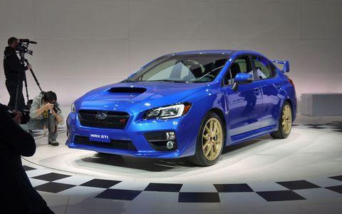 2014 Subaru Impreza Wrx Sti >> Detroit 2014 Subaru Impreza Wrx Sti