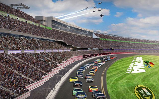 Daytona International Speedway's $400 Million Upgrade