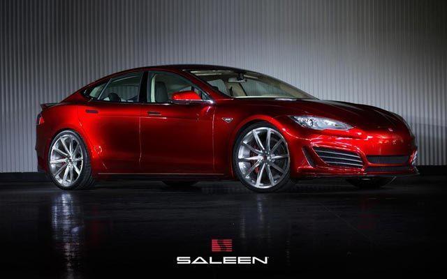 Saleen's Souped-Up Tesla Model S Sounds Like a Low-Flying Jet