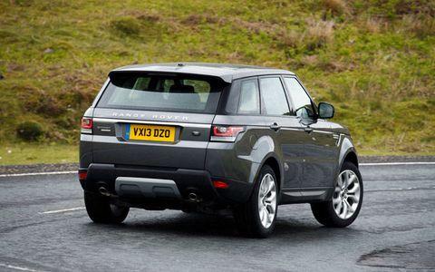2014 Range Rover Sport Test Drive