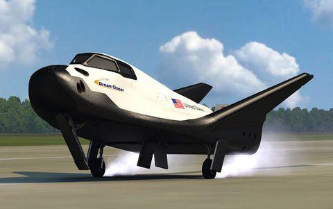 The Sierra Nevada Dream Chaser.