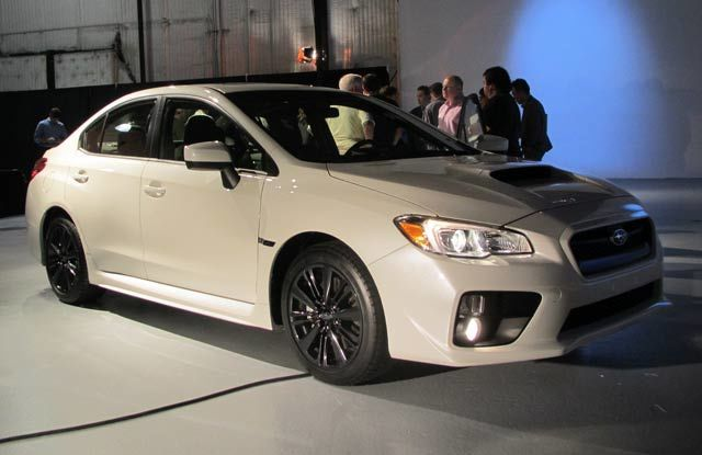 L.A. Auto Show: 2015 Subaru WRX First Look
