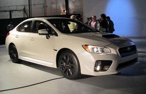 LA Auto Show Subaru WRX First Look - Overhaul car show