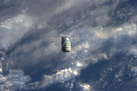 Orbital Sciences' Cygnus Berths with Space Station