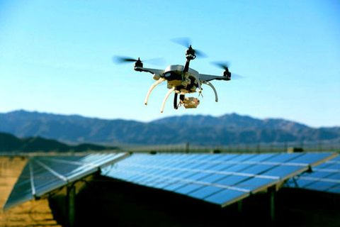Technology, Aircraft, Slope, Rural area, Mountain range, Hill station, Roof, Machine, Drone, Wing,