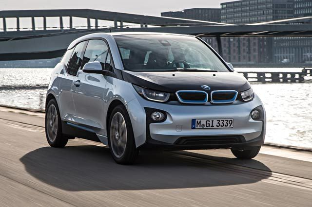 The Future of Transportation, for Some of Us: 2014 BMW i3