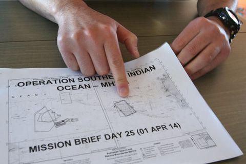 Kojiro Tanaka, Head of the Japan Coast Guard mission explains today's search mission.