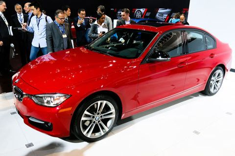 NYAS: 2014 BMW 328d's Fuel-Sipping Four-Cylinder Diesel