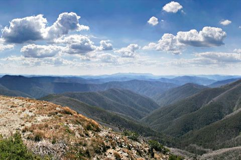 View from Mt. Hotham