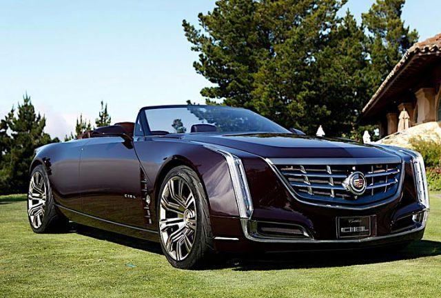 Cadillac concept convertible
