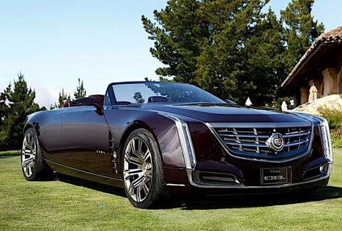 Cadillac Ciel Convertible Concept First Look