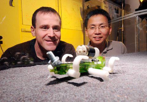 Daniel Goldman, left, and Chen Li.