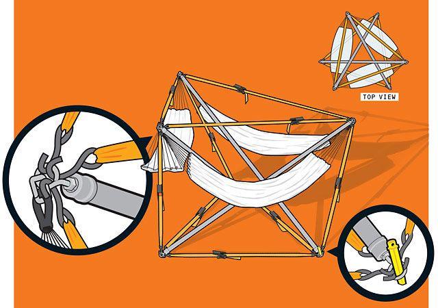 vic kulihin how to build a three person hammock  rh   popularmechanics