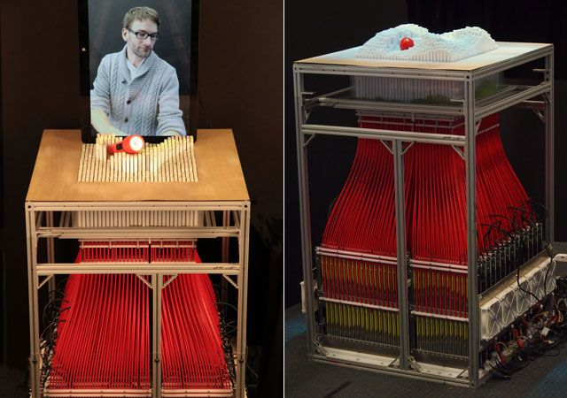 How It Works: MIT's inFORM Dynamic Shape Display