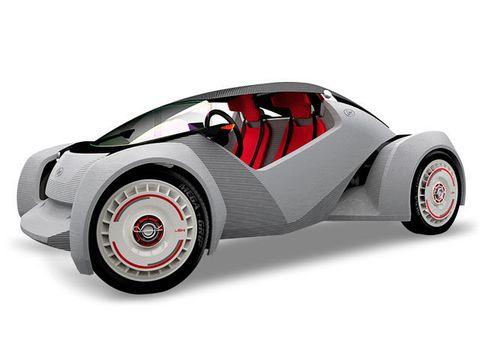 The 3D-Printed Car: Breakthrough Awards 2014