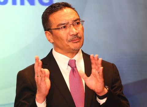 Datuk Hishamuddin Hussein, Acting Minister of Transport briefs the media that Malaysia Airline flight MH370 is still missing on March 13, 2014 in Kuala Lumpur, Malaysia.