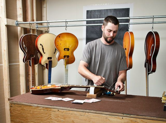 Guitar Builder: This Is My Job