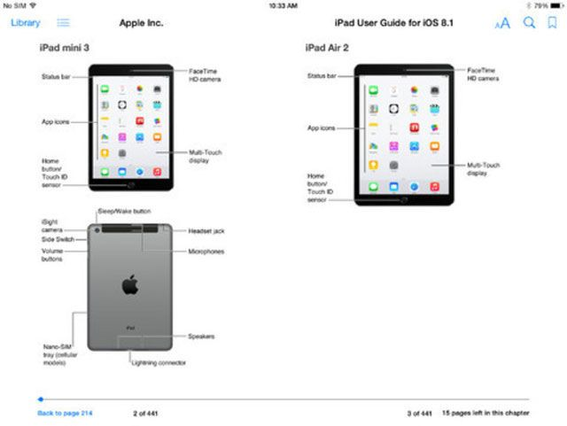 Apple Accidentally Leaks iPad Air 2 and iPad Mini 3 in iOS 8 User Guide