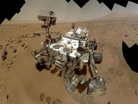 Curiosity Finds an Ancient Martian Lake That Could Have Supported Life