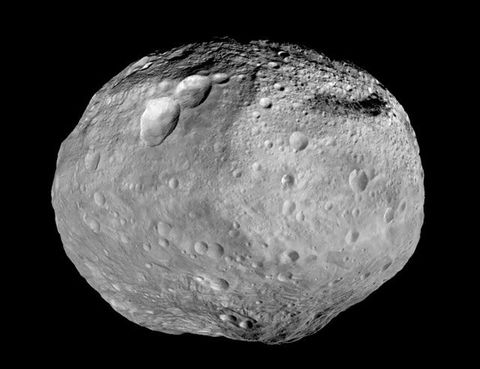 even the asteroid belt has water