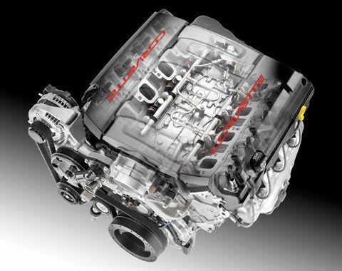 GM Unveils The Next Corvette's V-8