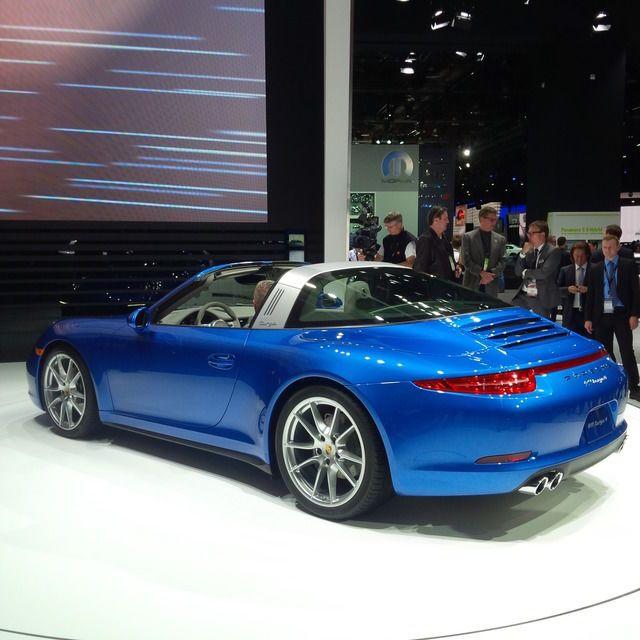 Detroit 2014: Porsche 911 Targa