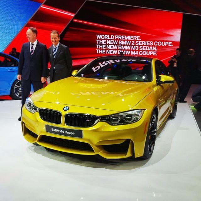 Detroit 2014: BMW M3 Sedan and M4 Coupe