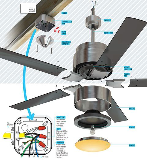 Whats inside your ceiling fan image mozeypictures