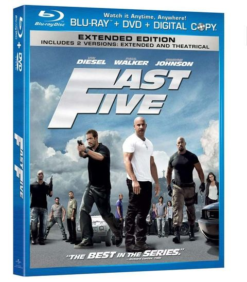 Popular Mechanics Sweepstakes >> The 2011 Dodge Chargers Of Fast Five Fast Five Blu Ray